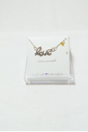 Savvy Designs Love Connector Necklace - Product Mini Image