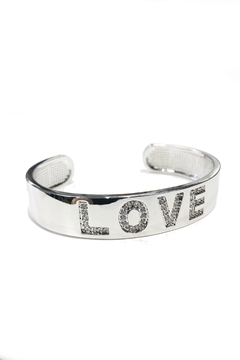 Lets Accessorize Love Cuff Bracelet - Product List Image