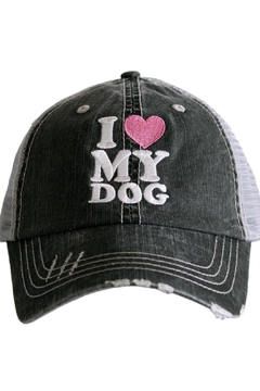 "Shoptiques Product: ""...Love ...Dog"" Hat"