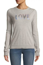 Zadig & Voltaire Love-Embellished Cashmere Sweater - Product Mini Image