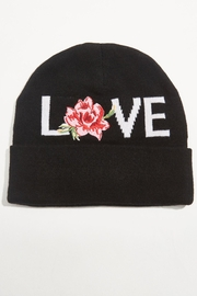 SPIRITUAL GANGSTER Love Embroidered Beanie - Product Mini Image