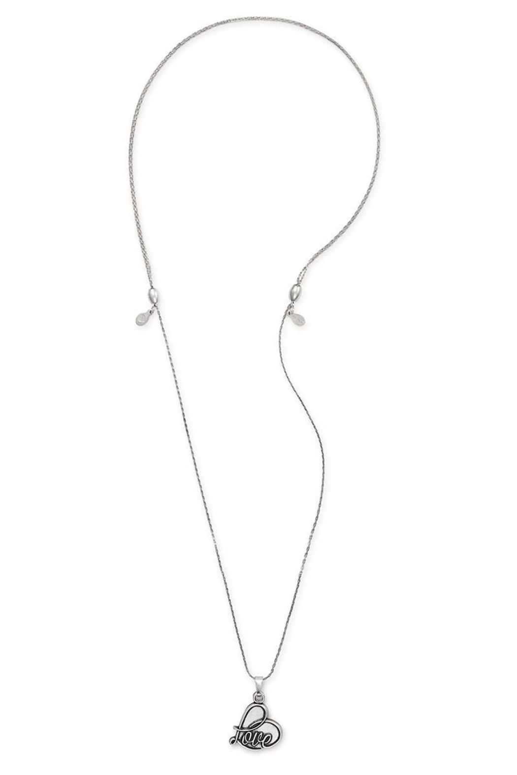 Alex and Ani Love Expandable Necklace - Front Full Image