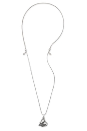 Alex and Ani Love Expandable Necklace - Front full body