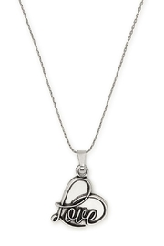 Alex and Ani Love Expandable Necklace - Front cropped
