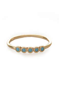 Shoptiques Product: Gold Eyes Stack Ring