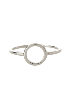 Shoptiques Product: Silver Open Circle Ring