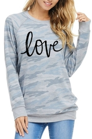 Zutter Love Graphic Top - Product Mini Image
