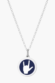 Auburn Jewelry Love Hands Silver Pendant - Mini - Product Mini Image