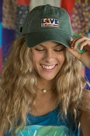 Natural Life Love Hangout Cap - Front cropped