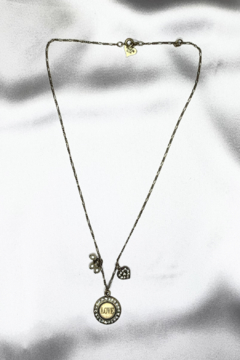 Shoptiques Product: Love Heart Charm Necklace