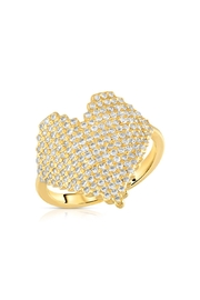 Miranda Frye Love Heart Ring - Product Mini Image