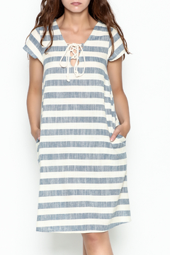 Love in  Beach Stripe Dress - Product List Image