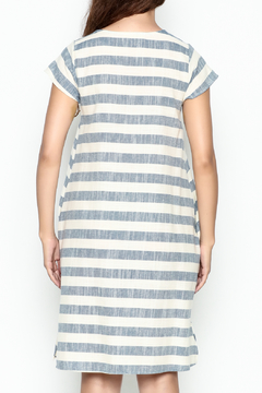 Love in  Beach Stripe Dress - Alternate List Image