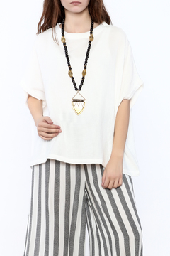 Love in  Gauze Square Top - Product List Image