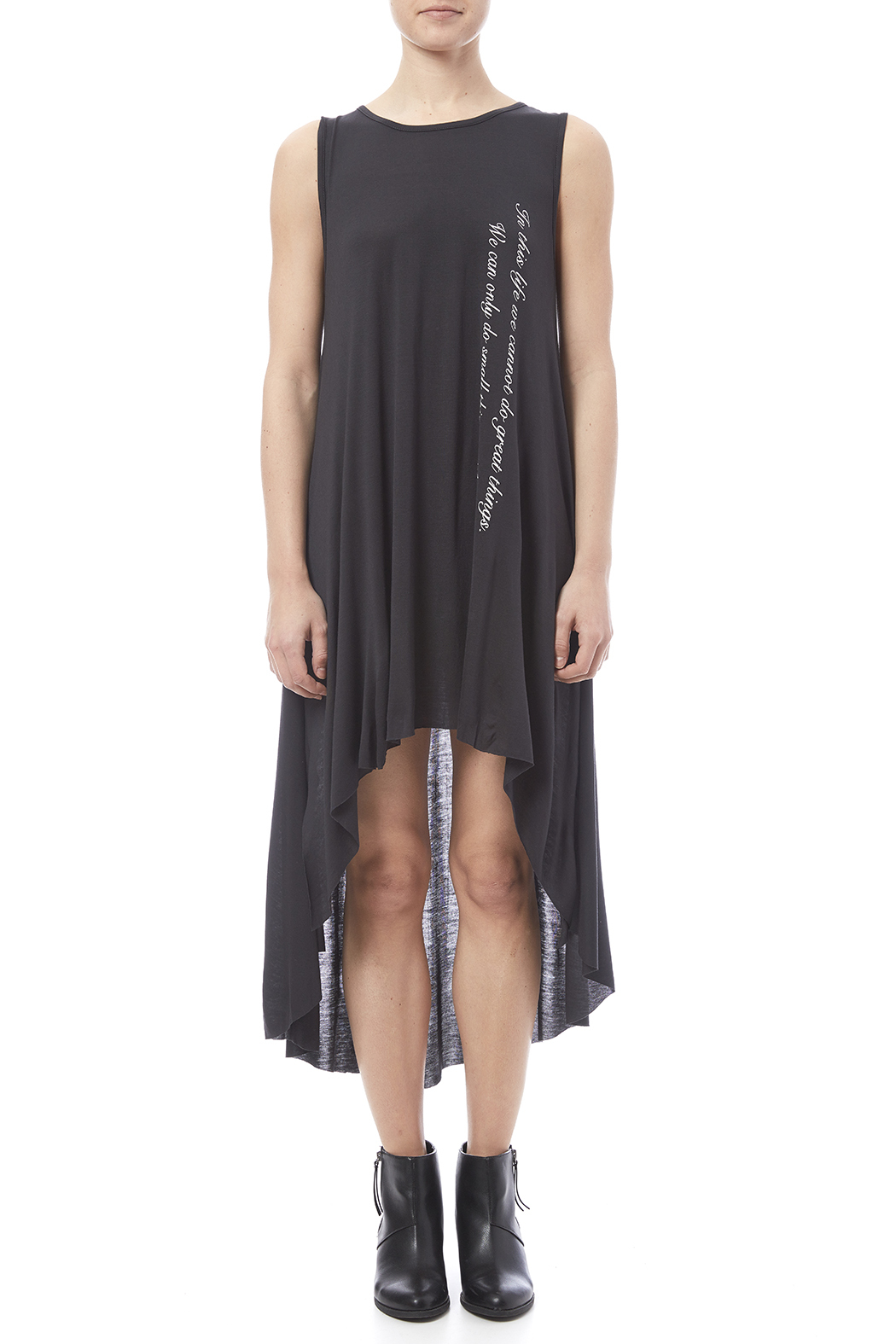Love in  In This Life Dress - Front Cropped Image