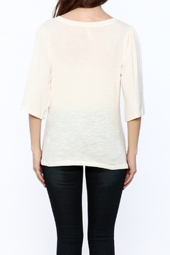 Shoptiques Product: Solid Bell Sleeve Top