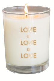 Chez Gagne Love is Love Candle - Product Mini Image