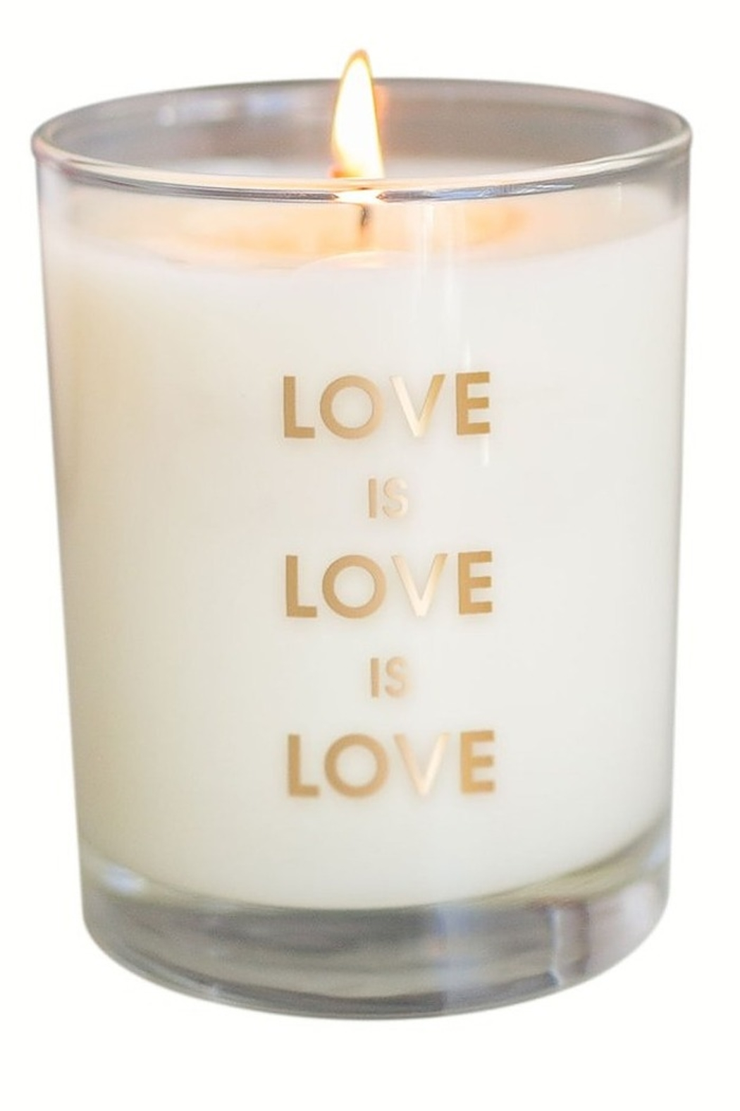 Chez Gagne Love is Love Candle - Main Image