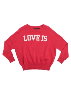 Shoptiques Product: Love Is Pullover