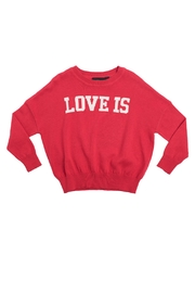 Rock Your Baby Love Is Pullover - Front cropped