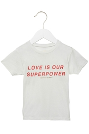 SPIRITUAL GANGSTER Love Is Superpower Tee - Front cropped