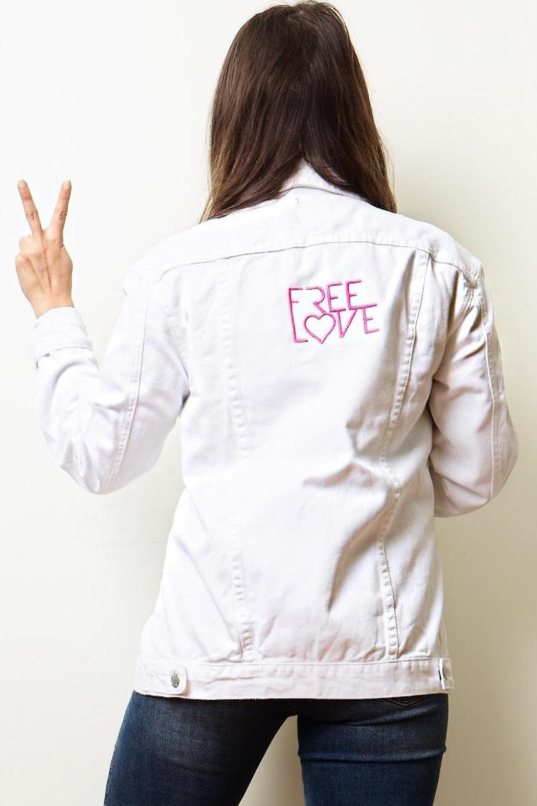 Love Tree Love Jeanee Jacket - Front Full Image