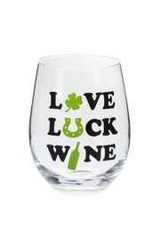 Ganz Love, Luck, Wine - Front cropped