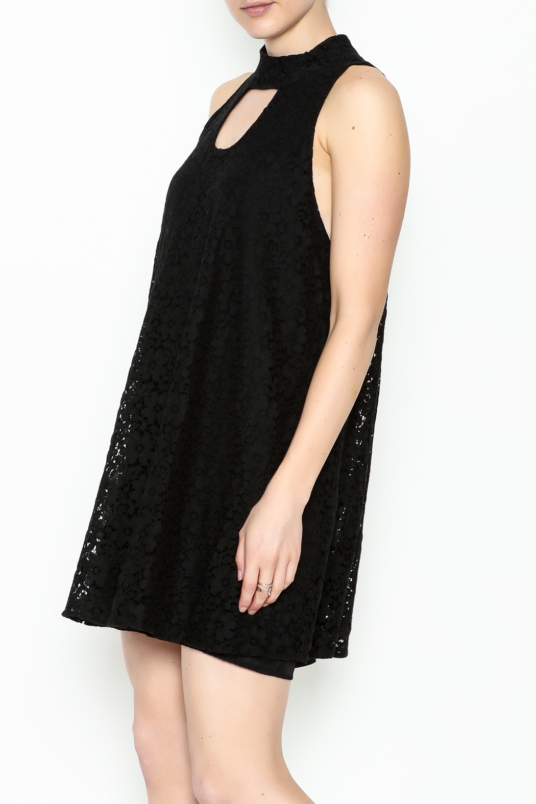 Love Lucy Mock Neck Dress - Main Image
