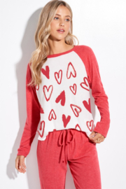 Phil Love  Love Me Not Lounge Top - Front cropped