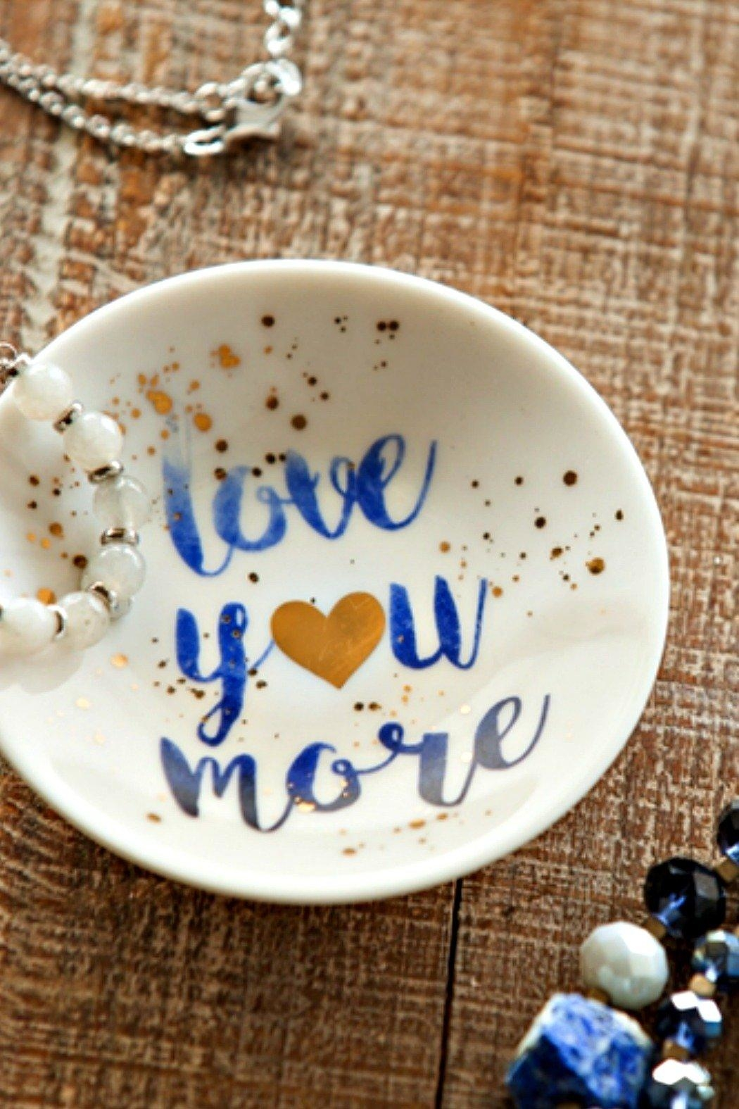 Evergreen Love Mini Dish - Front Cropped Image