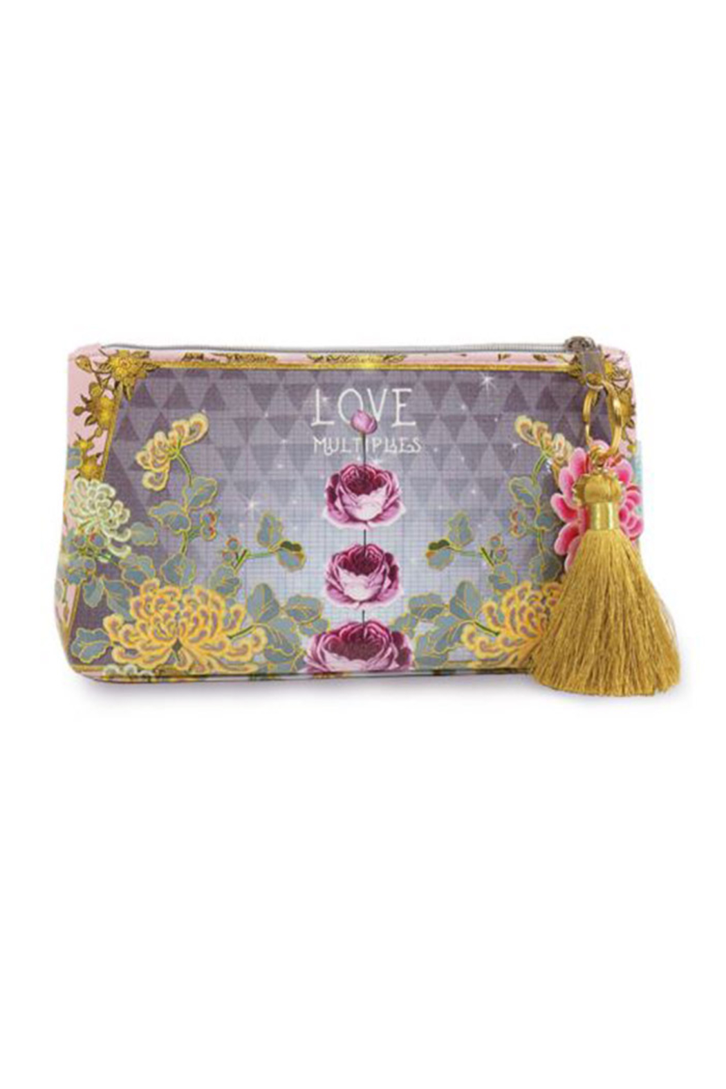PAPAYA! Love Multiplies Small Pouch - Front Cropped Image
