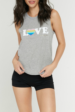 SPIRITUAL GANGSTER Love Muscle Tank - Product List Image