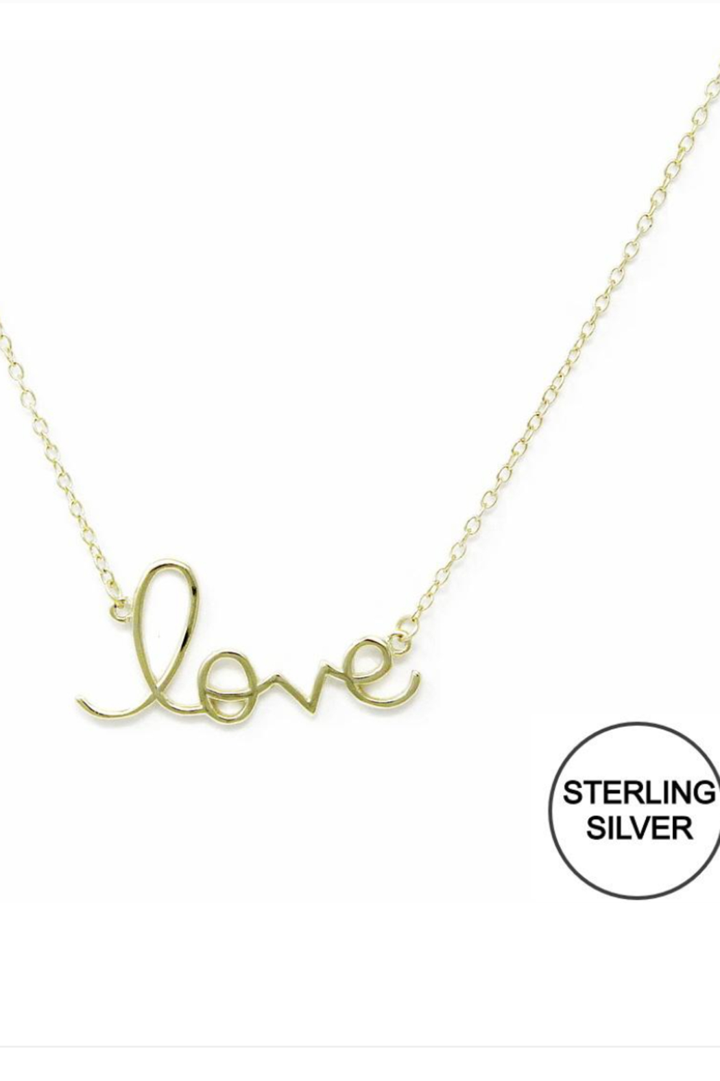 US Jewelry House Love Necklace - Main Image