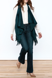 LOVE ON A HANGER Faux Suede Vest - Front full body