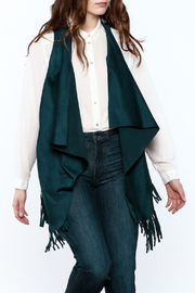 LOVE ON A HANGER Faux Suede Vest - Front cropped