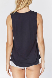SPIRITUAL GANGSTER Love Over Fear Muscle Tank - Front full body