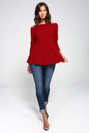2 Hearts Love Red Blouse - Other