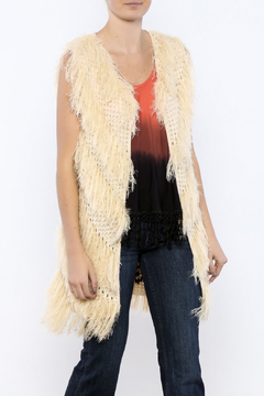 Shoptiques Product: Fuzzy Sweater Vest