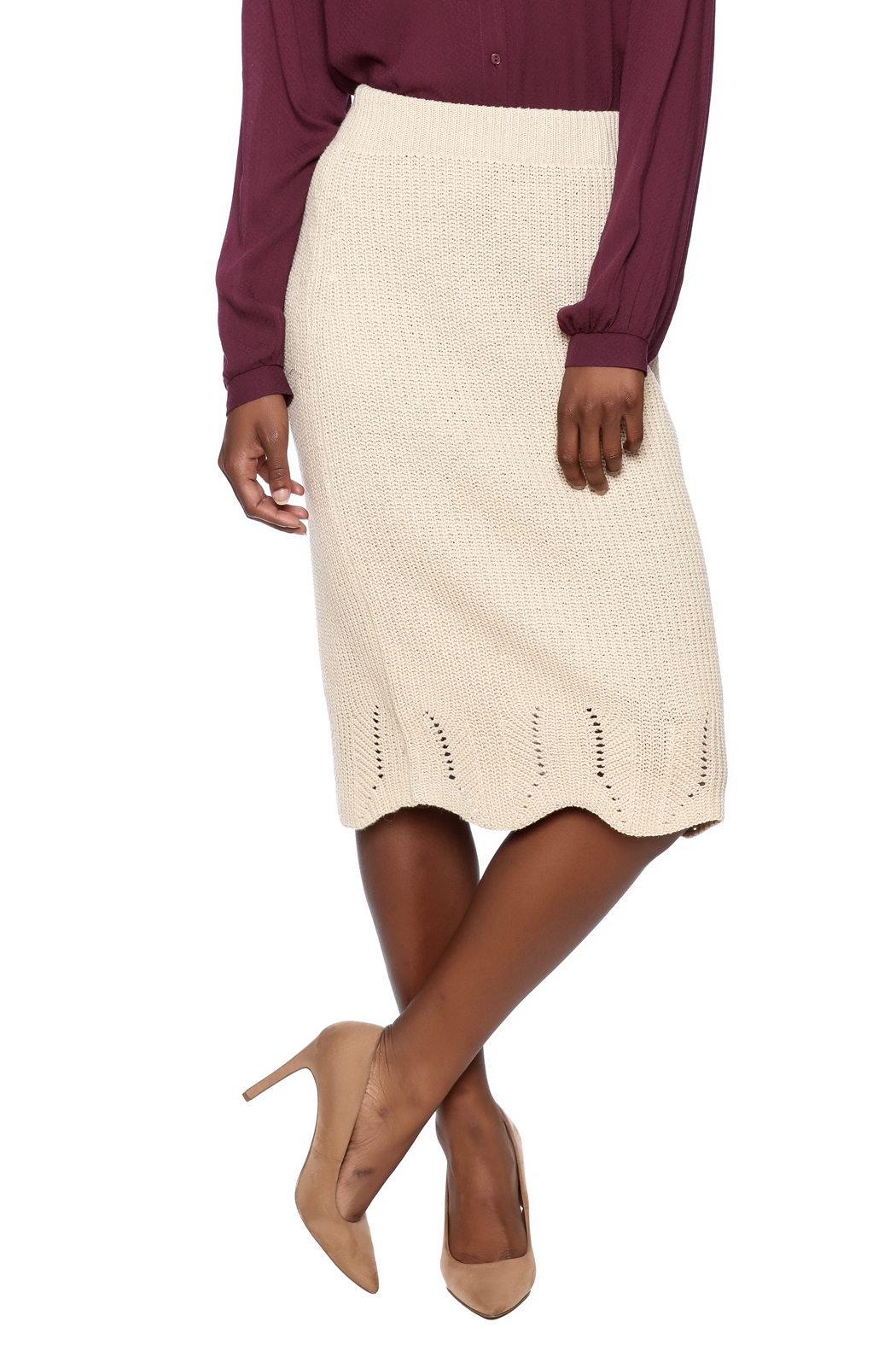 e3e0bb5eeb71 LoveRiche Knit Skirt from Miami by Leah & Pearl — Shoptiques