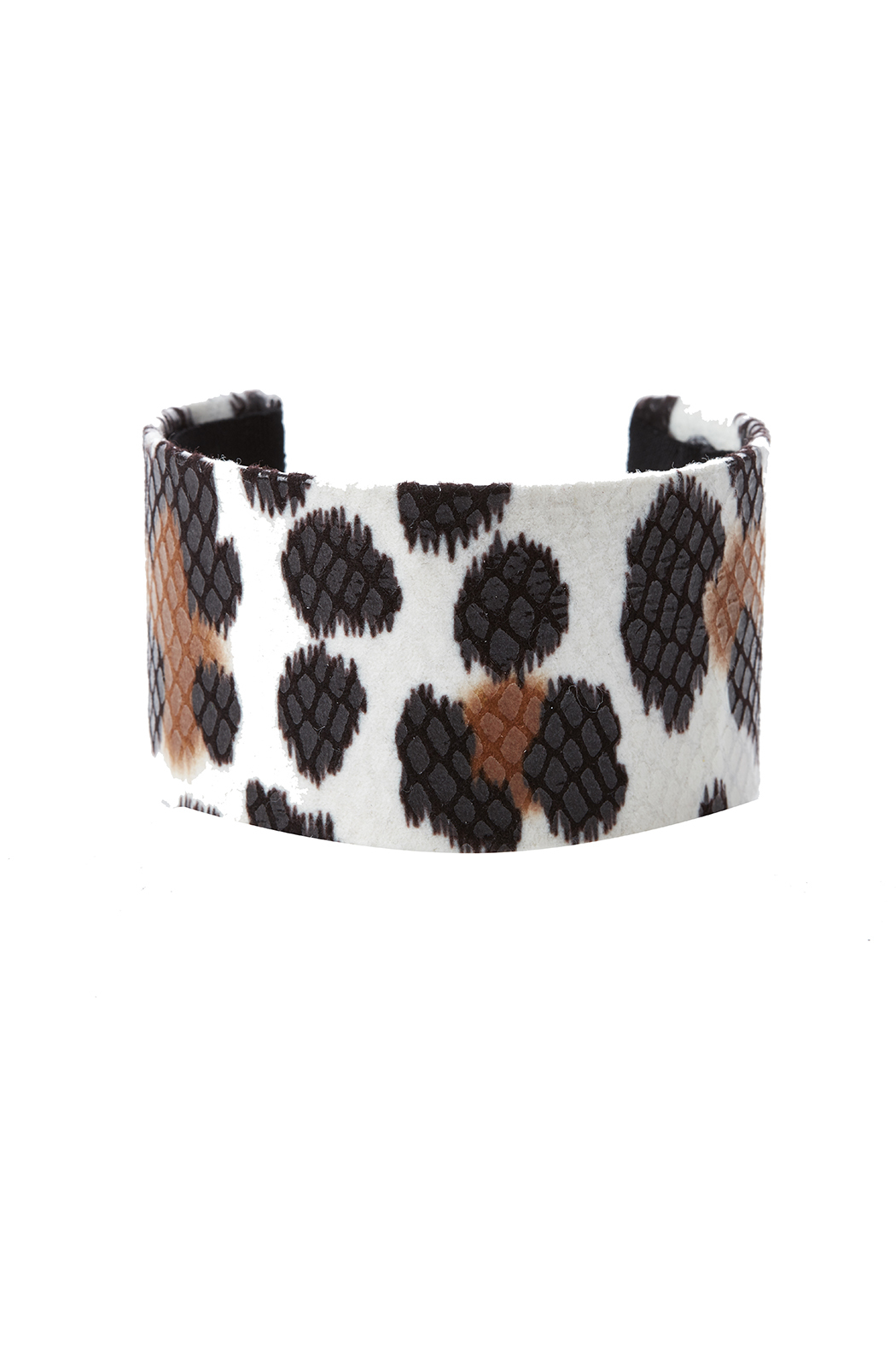 Love's Hangover Creations Animal Print Cuff - Front Cropped Image