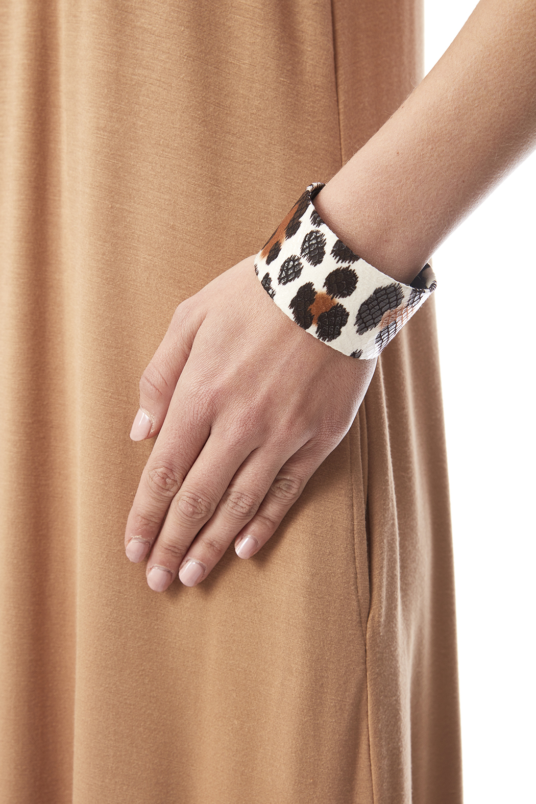 Love's Hangover Creations Animal Print Cuff - Back Cropped Image