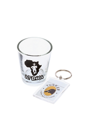 Love's Hangover Creations Safari Shot Glasses - Back cropped