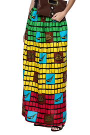 Love's Hangover Creations Tanzania Maxi Skirt - Front cropped