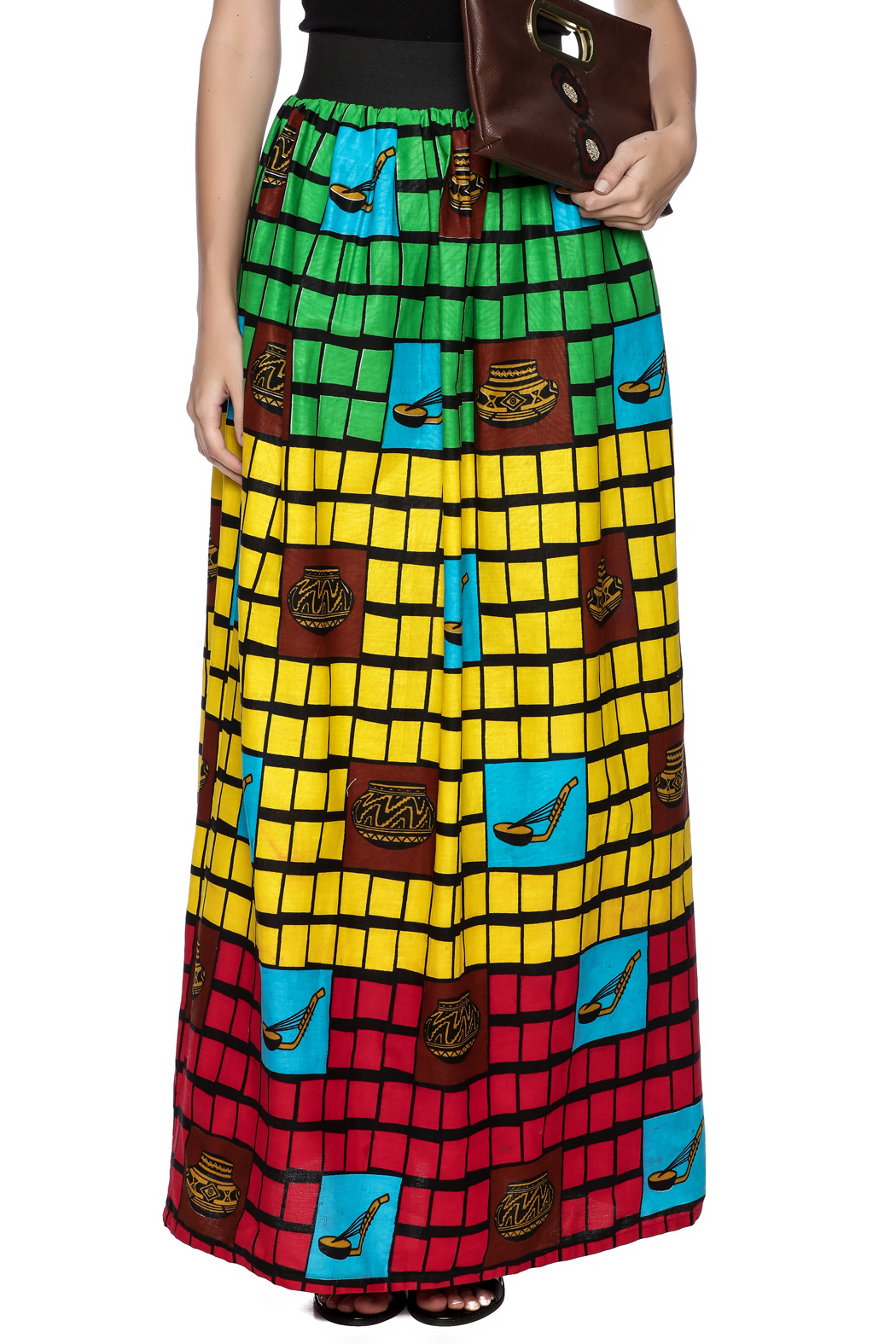 Love's Hangover Creations Tanzania Maxi Skirt - Side Cropped Image