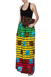 Love's Hangover Creations Tanzania Maxi Skirt - Front full body