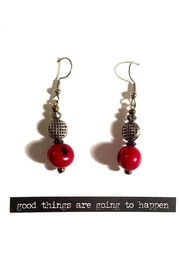 Love's Hangover Creations Acai Berry Earrings - Product Mini Image