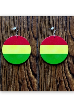 Love's Hangover Creations Afro Hippie Earrings - Product List Image