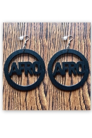 Love's Hangover Creations Afro Hippie Earrings - Product Mini Image