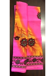 Love's Hangover Creations Afro Hippie Scarf - Front full body