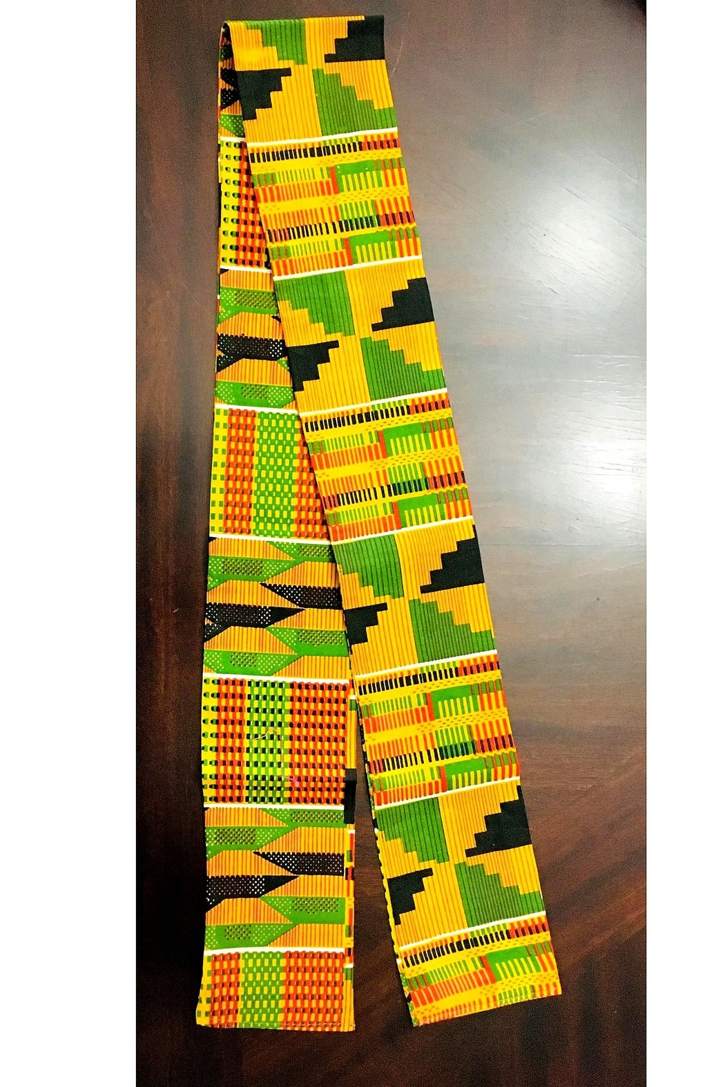 Love's Hangover Creations Afro Hippie Scarf - Front Full Image